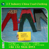 American Used Clothing Used Winter Clothes Stretch Pants with Fashion Design