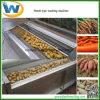 Cassava Potato Carrots Ginger Root Vegetable Washing Peeling Machine