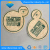 Custom Promotional Special Shape Absorbent Paper Drink Coaster