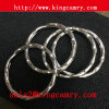 Metal Round Rings Split Key Rings Rippled Key Rings
