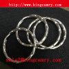 Metal Round Rings Split Key Rings Rippled Key Rings