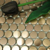 Steel inoxidable Metal Mosaic/Mosaic Tile para Swimming Pool Mosaic
