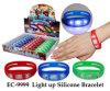 Light up Silicone Bracelet Novelty Toy