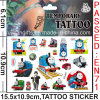 Temporary Cartoon Skin Tattoo Sticker (cg081)