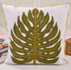 Cotton Canvas Embroidery Tree Cushion Fashion Pillow (GL04-552)