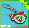 Custom Promotion Keychain Rubber Key Ring for Sports