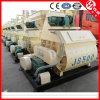 Js500 Concrete Mixer with Mechanical Hopper for Sale