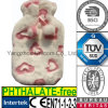 CE Heart False Animal Fur Hot Water Bottle Plush Cover