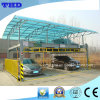 2-Level Vertical and Horizontal Parking System with Mechanical