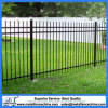 Powder Coated Black Steel Picket Fencing Panel
