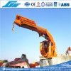 5t@20m Foldable Boom Marine Pedestal Crane