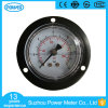 2017 Hot Sale Black Steel Measuring Instruments Pressure Gauge