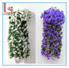 Wholesale Wedding Home Decoration Rattan Bracketplant Violet Hanging Fake Flower Girl Birthday Gift Simulation Flower Decorative Artificial Flower