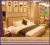 Al-0507 Modern Asian Hilton Hotel Furniture Simplify Fabric Oak Solid Wood High Gloss King Size Bedroom Set