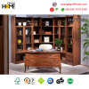 European Style Office Furniture Solid Wood Oak Bookcase and Study Table (HCT-02)