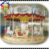 16 Seats Revolving Horses Court Carousel for Amusement Park
