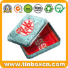 Food Grade Rectangular Metal Coffee Tin Box for Promotional Gifts