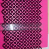 Swiss Lace Width Embroidery Polyester Trimming Fancy Nylon Lace for Garments & Home Textiles