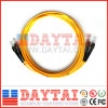 Standard Fiber Optic St/Upc Dual Fiber Patch Cord