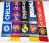 Sport Fan Acrylic Knitted Jacquard Soccer Football Scarf