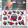 Temporary Spider Man Skin Tattoo (CG082)