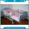 Ldr Bed with Thick Mattress Manual Obstetric Labor Table (AG-C101A02B)