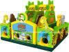 New Designinflatable Animal Jungle Amusement Park Slide for Sale (RB4025)