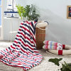 New Design Strip Full Polyester Softer Blanket