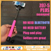 2014 New Mobile Phone Monopod Audio Cable Take Pole Selfie Stick Entendable Handheld Tripod for iPhone Ios Android Smart Phone