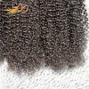 Top Quality Virgin Malaysian Hair Kinky Curl Natural Color Hair Extension