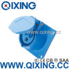 Qixing Cee/IEC Panel Mounted Straight Socket (QX-313)