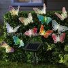 LED Solar Fiber Optic Butterfly String Light for Home Decoration