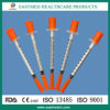 Insulin Syringe with Needle, Disposable