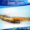Heavy Machine 4 Axles Low Bed Semi Truck Trailer