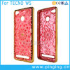 Electroplated Sunflower Diamond TPU Phone Case for Tecno W5