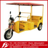 Yudi 2015 India Best Model 48V 1000W Electric Rickshaw Battery Rickshaw Auto Rickshaw