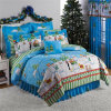 Winter Warm Cotton Blue Comforters and Bedspreads for Teenager (GT-09695)
