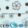 Acid Etched Glass/Frosted Glass/Art Glass with Ce, ISO/ Sdf005