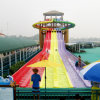Water Park Octopus 6 Lane Fiberglass Waterslides