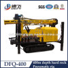 400m Top-Drive Pneumatic Air-Powered Rock Rig Dfq-400 for Water Well Drilling
