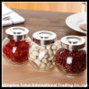 Small Glass Oval Jar / Beans Storage Jar