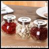 Small Glass Oval Jar / Beans Storage Jar