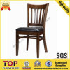 Leather Seat Restaurant Wooden Dining Chair