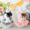 Printing Cute Dog Dress Summer Pet Clothings Skirts