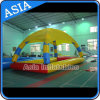 Inflatable Square Pool Tent with Trampoline, Inflatable Pool with Havelock