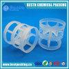 PP, PE, PVC, PVDF Plastic Pall Ring as Tower Packing