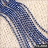 Wholesales High Quality Brass Ball Chain Blue Color for Curtain