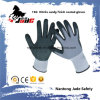 15g Nylon Palm Nitrile Sandy Finish Coated Glove