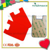 cellphone silicone card bag with sticker(pH09-084)