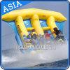 PVC Tarpaulin Inflatable Flying Fish Tube Towable / Inflatable Water Games Flyfish Banana Boat for Sea
